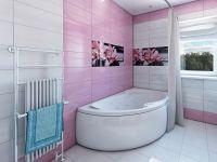 Ванная комната в частном доме 7