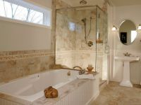 Ванная комната в частном доме 9