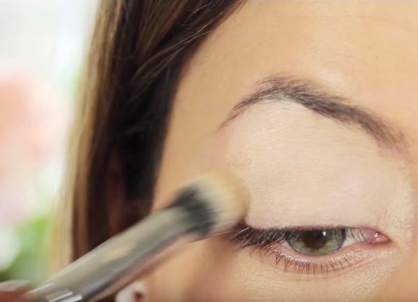 как сделать вечерний макияж глаз 1