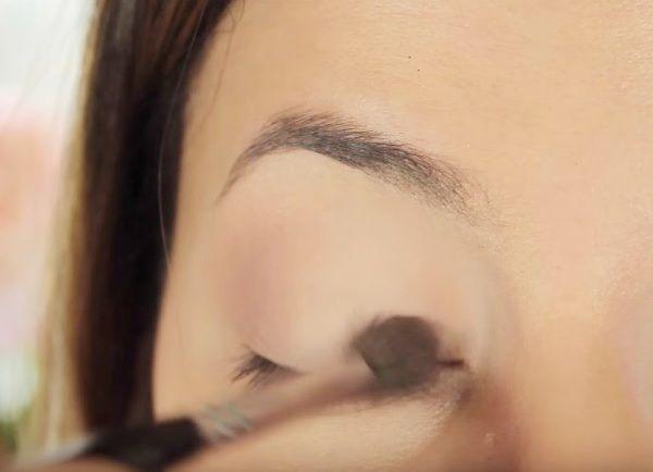 как сделать вечерний макияж глаз 3