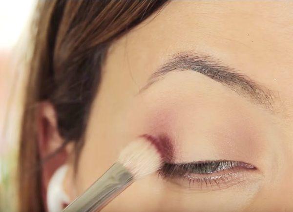 как сделать вечерний макияж глаз 4