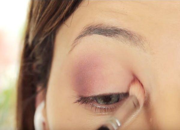как сделать вечерний макияж глаз 5