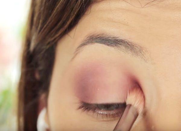 как сделать вечерний макияж глаз 6