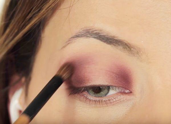 как сделать вечерний макияж глаз 7