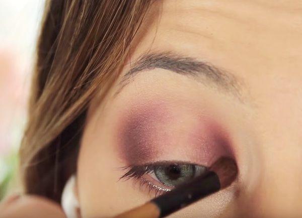 как сделать вечерний макияж глаз 8