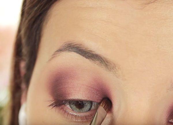 как сделать вечерний макияж глаз 9