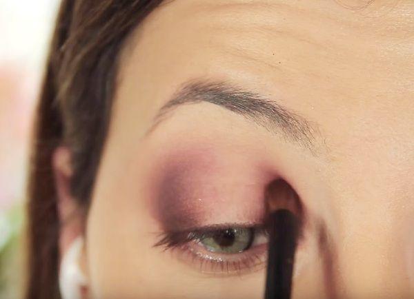 как сделать вечерний макияж глаз 10