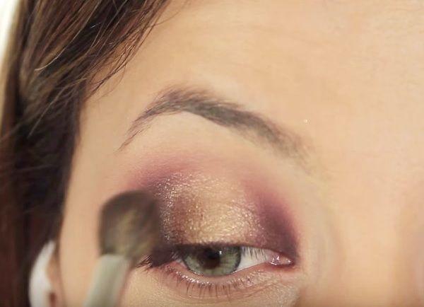 как сделать вечерний макияж глаз 13