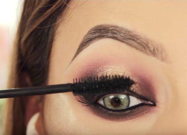 как сделать вечерний макияж глаз 22