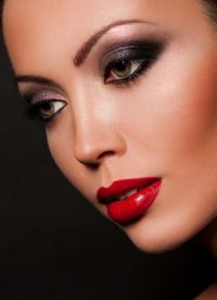 макияж глаза вечерний поэтапно 5