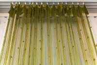веревочные шторы в интерьере 4
