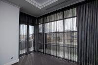 веревочные шторы в интерьере 6