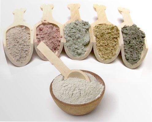 Лечебная глина бывает разных цветов