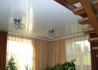 Виды потолков в частном доме2