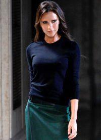 Показ Виктории Бэкхэм весна-лето 2015 на Неделе моды в Нью-Йорке