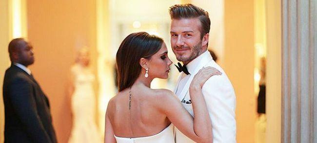 Виктория и Дэвид Бекхэмы поздравили друг друга с годовщиной свадьбы
