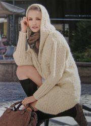 Вязаные пальто 2013