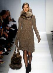 Вязаные платья 2013
