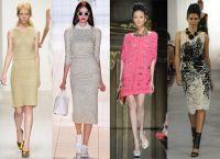 Вязаные платья 2014