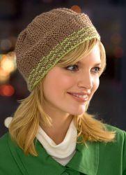 Вязаные шапки для женщин 2014