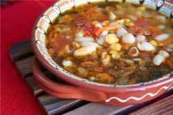 Вкусный густой суп - молдавская чорба с фасолью