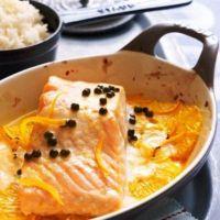 Восхитительно нежная рыба в апельсиновом соусе