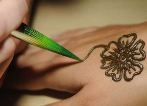 временная татуировка в домашних условиях5