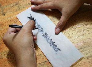временная татуировка в домашних условиях6