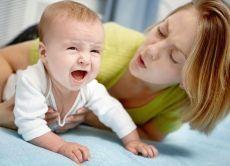 Вздутие живота у ребенка