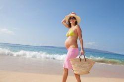 Загар во время беременности