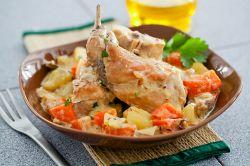 Заяц в сметане – рецепт