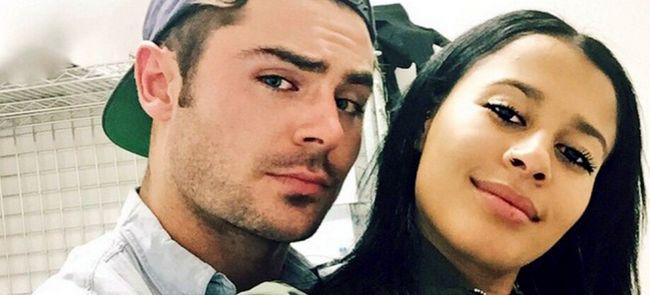 Зак эфрон и его девушка 2015