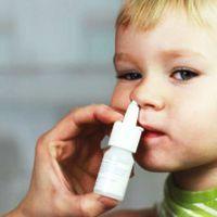 Закапывание капель в нос детям