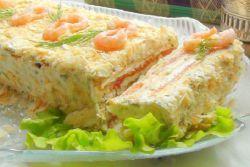 Закусочный торт «наполеон» из готовых коржей