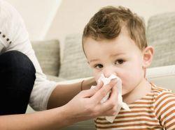 Заложен нос у ребенка, соплей нет