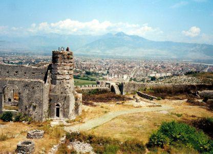 Замки албании
