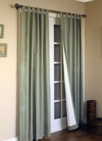 Занавески на дверной проем14