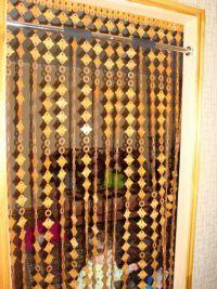 Занавески на дверной проем3