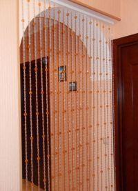 Занавески на дверной проем9