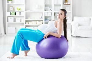 зарядка для беременных 3-й триместр 1