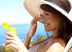 Защита от солнца для лица