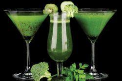 Зеленые коктейли - польза и вред