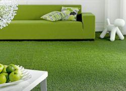 Зеленый ковролин