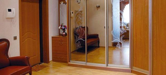 Зеркальные фасады для шкафов-купе