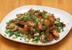 Жареная картошка с грибами - рецепт