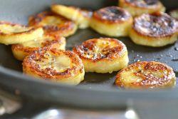 Жареные бананы - рецепт