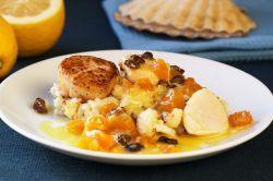 Жареные морские гребешки – рецепт