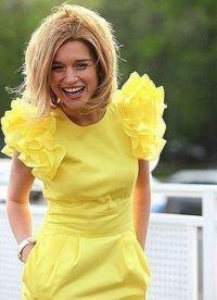 желтое платье как у бородиной2