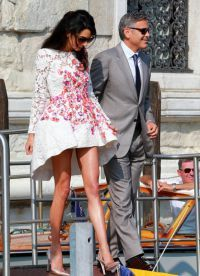 Джордж Клуни с супругой Амалией