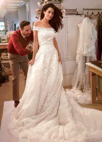 Жена Джорджа Клуни в свадебном платье